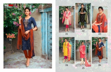 LOOKWELL PRESENTS VEDI FANCY WEAR EMBROIDERED SUITS WHOLESALE PRICE (4) JPG