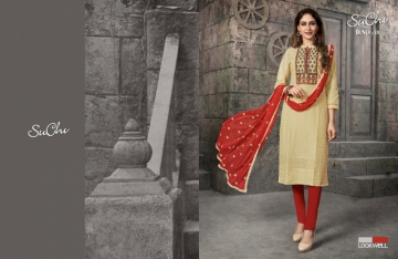 LOOKWELL SUCHI COTTON FANCY SALWAR SUITS WHOLESALE PRICE (1) JPG