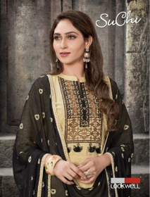 LOOKWELL SUCHI COTTON FANCY SALWAR SUITS WHOLESALE PRICE (5) JPG