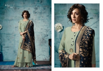 LT FABRICS NITYA VOL 32 RAYON FANCY DESIGNER GOWNS WHOLESALE SUPPLIER SURAT (12) JPG