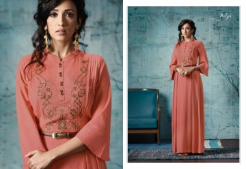 LT FABRICS NITYA VOL 32 RAYON FANCY DESIGNER GOWNS WHOLESALE SUPPLIER SURAT (15) JPG
