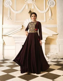 LT FABRICS NITYA VOL.34 NX STYLISH PARTY WEAR GOWN STYLE KURTIS WHOLESALE PRICE (15)JPG