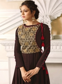 LT FABRICS NITYA VOL.34 NX STYLISH PARTY WEAR GOWN STYLE KURTIS WHOLESALE PRICE (18)JPG