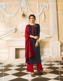 LT FABRICS NITYA VOL.34 NX STYLISH PARTY WEAR GOWN STYLE KURTIS WHOLESALE PRICE (7)JPG