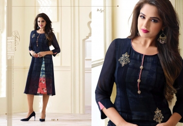 LT NITYA 1501- 1512 SERIES GEORGETTE KURTIS WHOLESALE PRICE (1) JPG