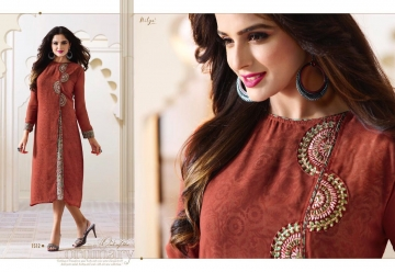 LT NITYA 1501- 1512 SERIES GEORGETTE KURTIS WHOLESALE PRICE (13) JPG