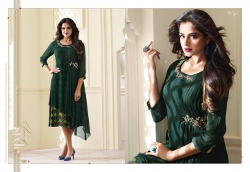 LT NITYA 1501- 1512 SERIES GEORGETTE KURTIS WHOLESALE PRICE (14) JPG