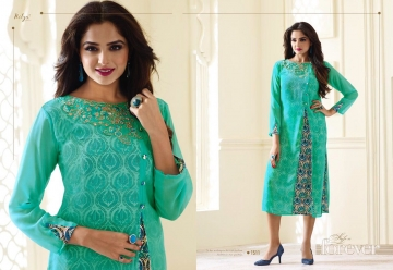 LT NITYA 1501- 1512 SERIES GEORGETTE KURTIS WHOLESALE PRICE (15) JPG