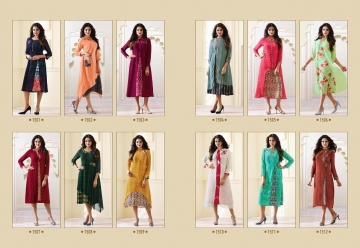 LT NITYA 1501- 1512 SERIES GEORGETTE KURTIS WHOLESALE PRICE (18) JPG