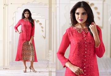 LT NITYA 1501- 1512 SERIES GEORGETTE KURTIS WHOLESALE PRICE (3) JPG