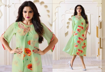 LT NITYA 1501- 1512 SERIES GEORGETTE KURTIS WHOLESALE PRICE (4) JPG