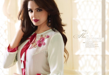 LT NITYA 1501- 1512 SERIES GEORGETTE KURTIS WHOLESALE PRICE (5) JPG