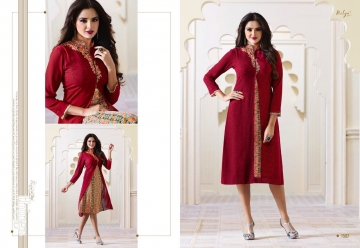 LT NITYA 1501- 1512 SERIES GEORGETTE KURTIS WHOLESALE PRICE (7) JPG