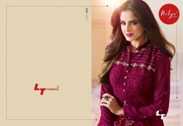 LT NITYA 1501- 1512 SERIES GEORGETTE KURTIS WHOLESALE PRICE (9) JPG