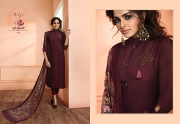 LT NITYA NX VOL 30 SILK FANCY KURTIS WHOLESALE PRICE (7) JPG