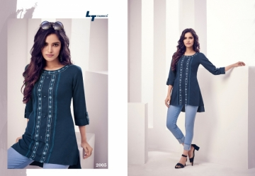 LT NITYA PRESENT ESSENTIALS VOL 02 REYON FANCY SHORT WESTERN TOP WHOLESALE PRICE SURAT(01)JPG