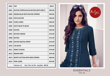 LT NITYA PRESENT ESSENTIALS VOL 02 REYON FANCY SHORT WESTERN TOP WHOLESALE PRICE SURAT(12)JPG