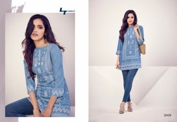 LT NITYA PRESENT ESSENTIALS VOL 02 REYON FANCY SHORT WESTERN TOP WHOLESALE PRICE SURAT(7)JPG