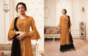 LT NITYA PRESENTS VIVANA PURE VISCOSE DESIGNER KURTI WITH BOTTOM (13) JPG