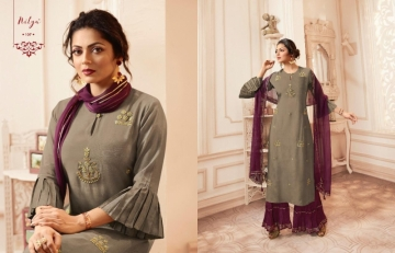 LT NITYA PRESENTS VIVANA PURE VISCOSE DESIGNER KURTI WITH BOTTOM (3) JPG