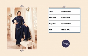 LT NITYA PRESENTS VIVANA PURE VISCOSE DESIGNER KURTI WITH BOTTOM (4) JPG