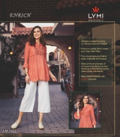 LYMI ORIGINALS PRESENTS ENRICH EMBROIDERED FANCY WEAR SHORT TOPS WHOLESALE PRICE (7)