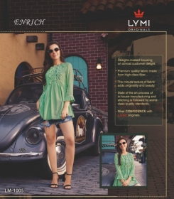 LYMI ORIGINALS PRESENTS ENRICH EMBROIDERED FANCY WEAR SHORT TOPS WHOLESALE PRICE (10)
