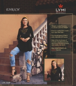 LYMI ORIGINALS PRESENTS ENRICH EMBROIDERED FANCY WEAR SHORT TOPS WHOLESALE PRICE (3)
