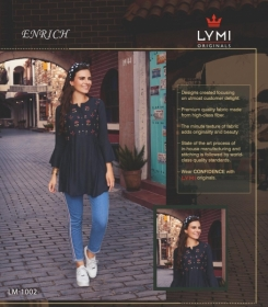 LYMI ORIGINALS PRESENTS ENRICH EMBROIDERED FANCY WEAR SHORT TOPS WHOLESALE PRICE (4)