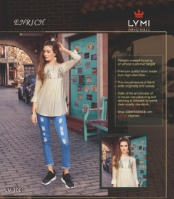 LYMI ORIGINALS PRESENTS ENRICH EMBROIDERED FANCY WEAR SHORT TOPS WHOLESALE PRICE (5)