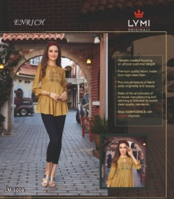 LYMI ORIGINALS PRESENTS ENRICH EMBROIDERED FANCY WEAR SHORT TOPS WHOLESALE PRICE (6)