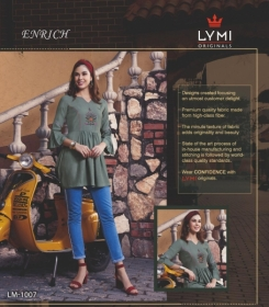 LYMI ORIGINALS PRESENTS ENRICH EMBROIDERED FANCY WEAR SHORT TOPS WHOLESALE PRICE (8)