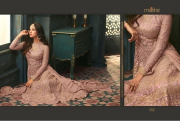 MAISHA 5301-5308 TIHOR PARTY WEAR DRESSES WITH GOWN WHOLESALE PRICE SURAT (10)JPG