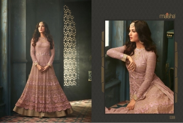 MAISHA 5301-5308 TIHOR PARTY WEAR DRESSES WITH GOWN WHOLESALE PRICE SURAT (11)JPG
