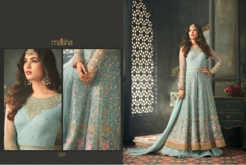 MAISHA 5301-5308 TIHOR PARTY WEAR DRESSES WITH GOWN WHOLESALE PRICE SURAT (14)JPG