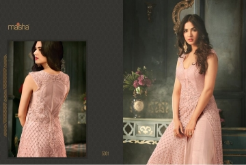 MAISHA 5301-5308 TIHOR PARTY WEAR DRESSES WITH GOWN WHOLESALE PRICE SURAT (1)JPG