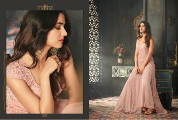 MAISHA 5301-5308 TIHOR PARTY WEAR DRESSES WITH GOWN WHOLESALE PRICE SURAT (2)JPG