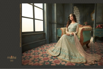 MAISHA 5301-5308 TIHOR PARTY WEAR DRESSES WITH GOWN WHOLESALE PRICE SURAT (7)JPG
