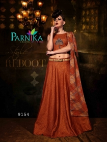 PARVATI SILK INDO-WESTERN SUITS WHOLESALE SUPPLIER SURAT (2)JPG