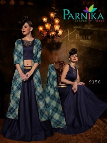 PARVATI SILK INDO-WESTERN SUITS WHOLESALE SUPPLIER SURAT (3)JPG