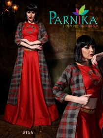 PARVATI SILK INDO-WESTERN SUITS WHOLESALE SUPPLIER SURAT (5)JPG