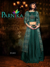PARVATI SILK INDO-WESTERN SUITS WHOLESALE SUPPLIER SURAT (7)JPG