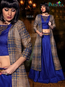 PARVATI SILK INDO-WESTERN SUITS WHOLESALE SUPPLIER SURAT (8)JPG