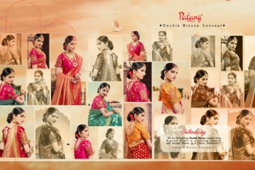 PATANG  FASHION STORY SILK EMBROIDERY SAREE WITH DUBBLE BLOUSE (3) JPG