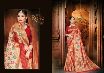 PATANG PRESENTS EXPRESSION SILK DESIGNER PARTY WEAR SAREES (6) JPG