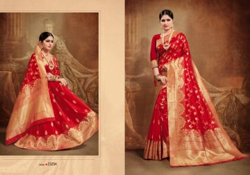 PATANG PRESENTS OCCASION SILK DESIGNER PARTY WEAR SAREE (01) JPG