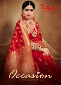 PATANG PRESENTS OCCASION SILK DESIGNER PARTY WEAR SAREE (4) JPG
