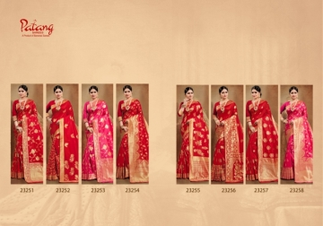 PATANG PRESENTS OCCASION SILK DESIGNER PARTY WEAR SAREE (6) JPG