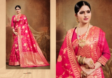 PATANG PRESENTS OCCASION SILK DESIGNER PARTY WEAR SAREE (7) JPG