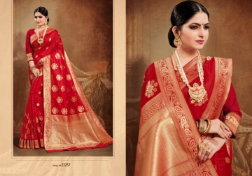 PATANG PRESENTS OCCASION SILK DESIGNER PARTY WEAR SAREE (8) JPG